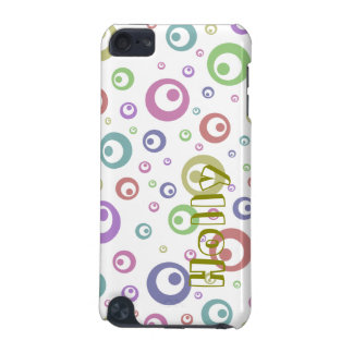 Multi-Color Abstract Polka Dots (Light) iPod Touch 5G Case