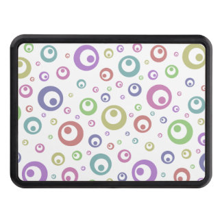 Multi-Color Abstract Polka Dots (Light) Tow Hitch Cover