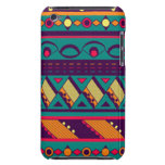 Multi Color African Design Barely There iPod Cover