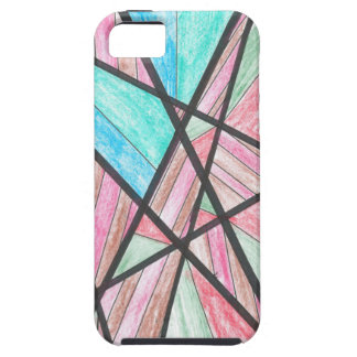 Multi-Color Angles iPhone 5 Case