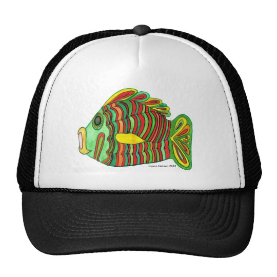Multi-color Bulti Fish Fishing Hat