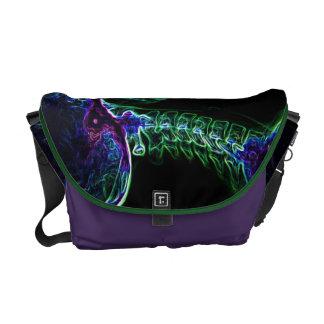 Multi-color C-spine Messenger Bag (Medium)
