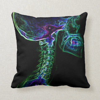 Multi-color C-spine toss pillow