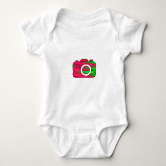 Multi Color Camera Baby Bodysuit