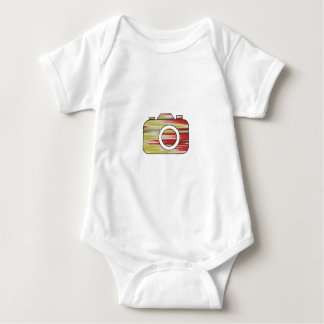 Multi Color Camera Baby Bodysuit