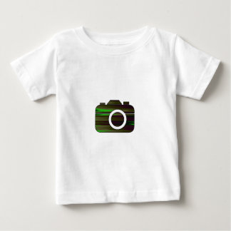 Multi Color Camera Baby T-Shirt