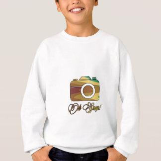 Multi Color Camera Oh Snap Sweatshirt