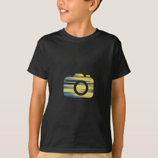 Multi Color Camera T-Shirt