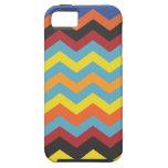 Multi color chevron pattern iPhone 5 cases
