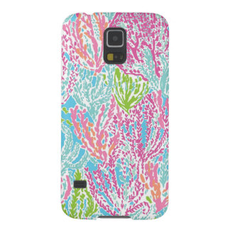 Multi-Color Coral Reef Case Cases For Galaxy S5