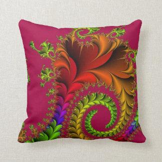 Multi Color Design Throw Pillow