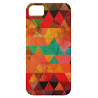 Multi Color Distressed Aztec Triangles iPhone SE/5/5s Case