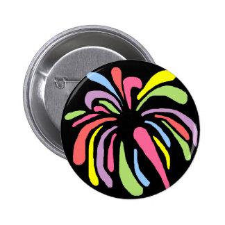 Multi color fireworks button