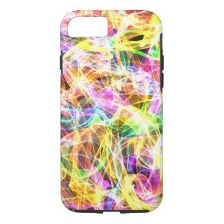 Multi Color Flame Design iPhone 7 Case