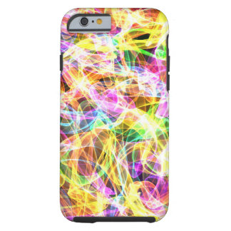 Multi Color Flame Design Tough iPhone 6 Case
