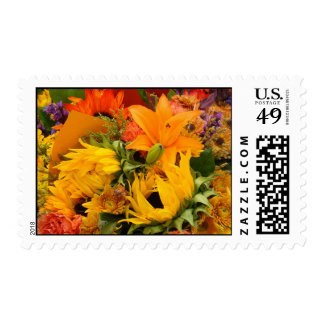 MULTI COLOR FLORAL 2 STAMPS