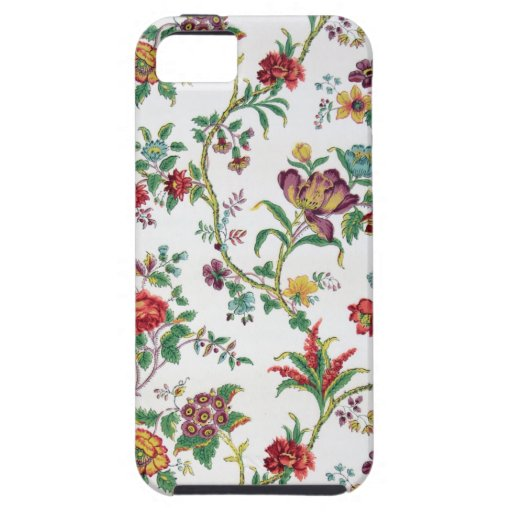 Multi-color floral wallpaper, c. 1912 iPhone 5 covers