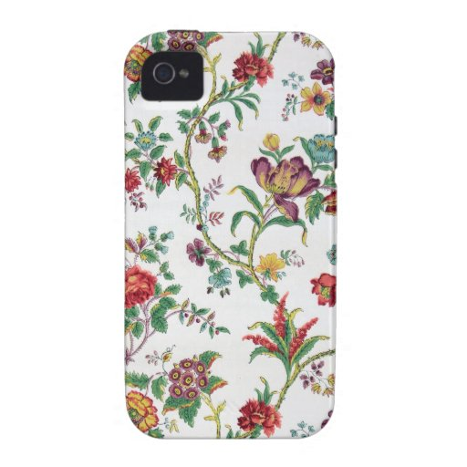 Multi-color floral wallpaper, c. 1912 Case-Mate iPhone 4 covers