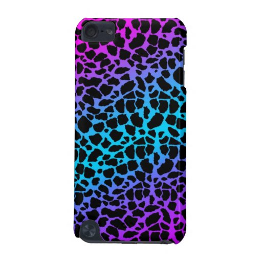 Multi-Color Giraffe Pattern iPod Touch Case