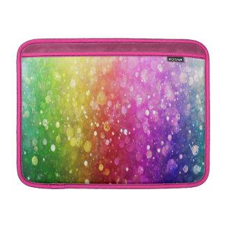 multi color,glitter,glam,chakra,fun,girly,trendy, MacBook air sleeves