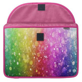 multi color,glitter,glam,chakra,fun,girly,trendy, sleeves for MacBooks