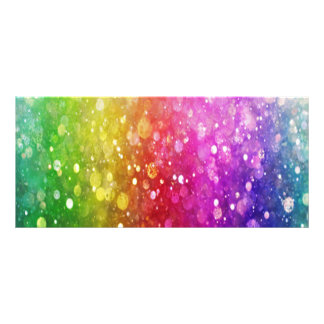 multi color,glitter,glam,chakra,fun,girly,trendy, rack card design