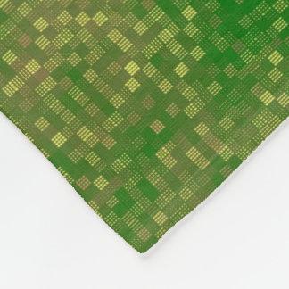 Multi-Color-Grid Fleece Blanket