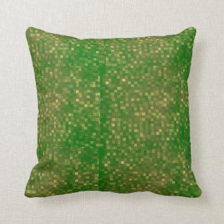 Multi-Color-Grid Throw Pillow