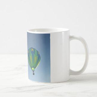 Multi-Color Hot Air Balloons Aloft Coffee Mug