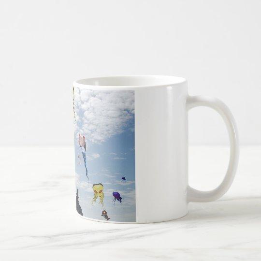 Multi Color Kites Painting the sky Coffee Mug