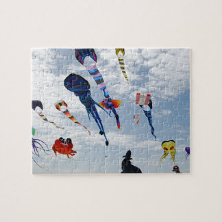 Multi Color Kites Painting the sky Jigsaw Puzzle