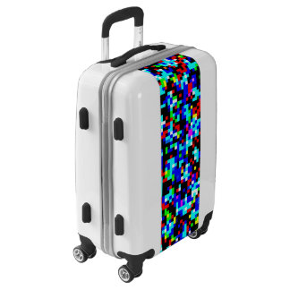 Multi-Color Pattern Cool Luggage