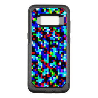 Multi-Color Pattern Cool OtterBox Commuter Samsung Galaxy S8 Case