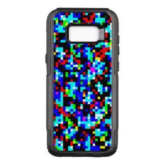 Multi-Color Pattern Cool OtterBox Commuter Samsung Galaxy S8+ Case