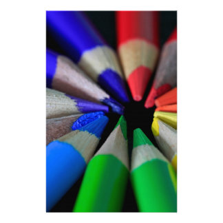 Multi Color Pencils Stationery