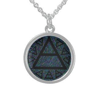 Multi-Color Plato Ancient Air Sign Triad Jewelry