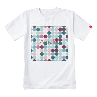 multi color,polka dot,fun,trendy,fun,girly,happy,r zazzle HEART T-Shirt