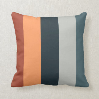 Multi- color Polyester Throw Pillow