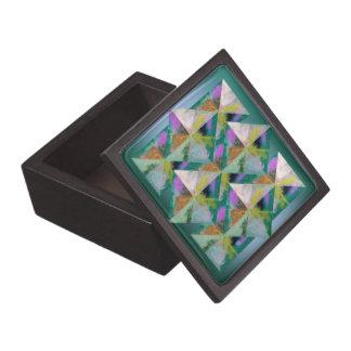 Multi-Color Prisms Jewelry Box