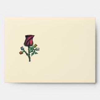 Multi-Color Roses..Envelope.. Envelope