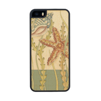 Multi-Color Shell Party Carved® Maple iPhone 5 Slim Case