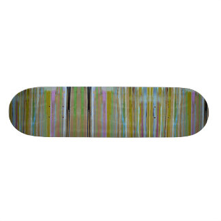 Multi color skateboard. skateboard