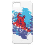 Multi Color Snowbarder Cathching High Snow Drifts iPhone 5 Cases