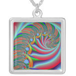 Multi-color Spiral Necklaces