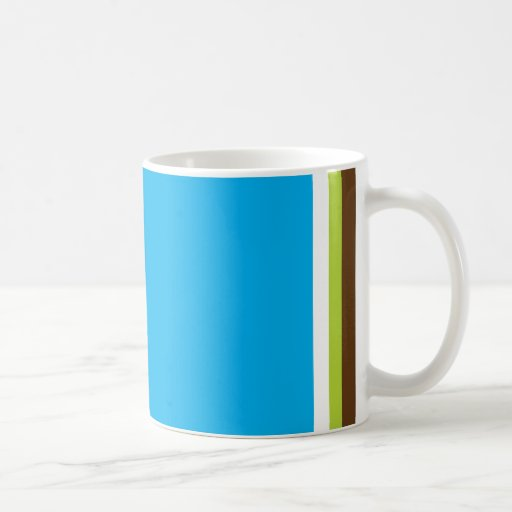 Multi Color Square Mug