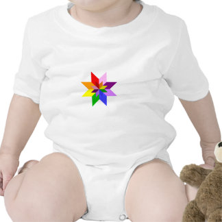 Multi-Color Star Eight Point T Shirts