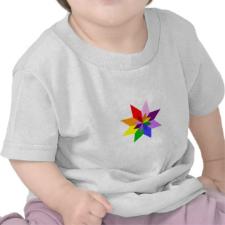 Multi-Color Star Eight Point Shirts