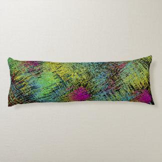 Multi-Color Stitches Body Pillow