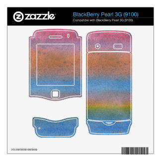 Multi Color Stripes Decal For BlackBerry