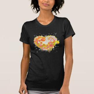 Multi Color Swirl Heart T-Shirt